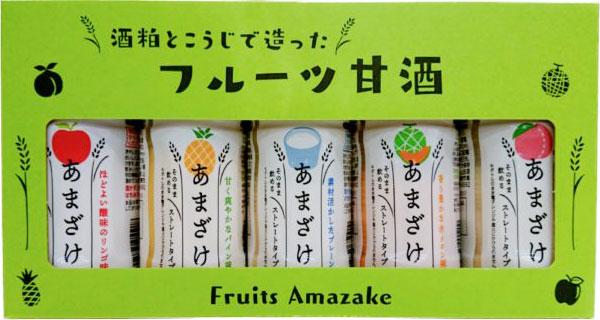 山田酒造食品 フルーツ甘酒セット パッケージ画像